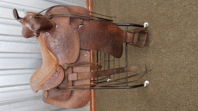 WESTERN CUTTING SADDLE