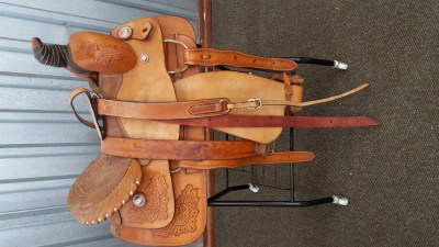 WESTERN SADDLE TAN II