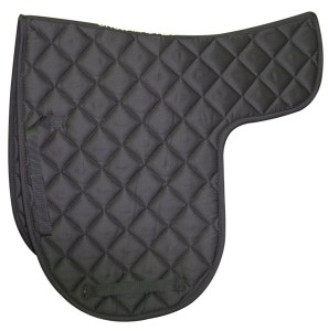 shaped dressage numnah