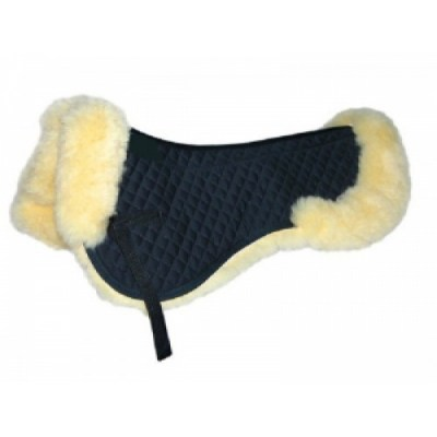 sheepskin backpad