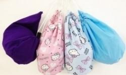 Bag Grooming Plain Assorted Colours